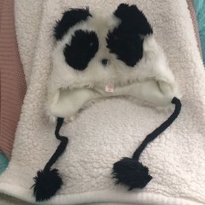 panda winter hat